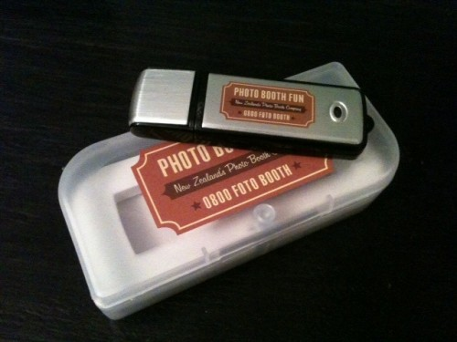 Our USB and it's case