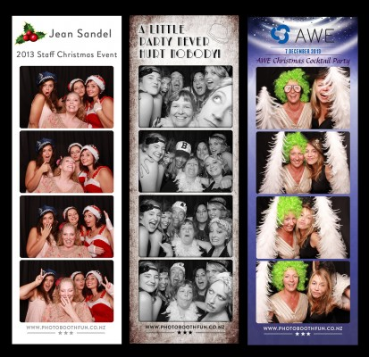 Taranaki Photo Booth Fun Christmas