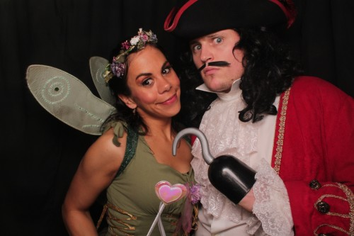 Tinkerbell and Captain Hook
